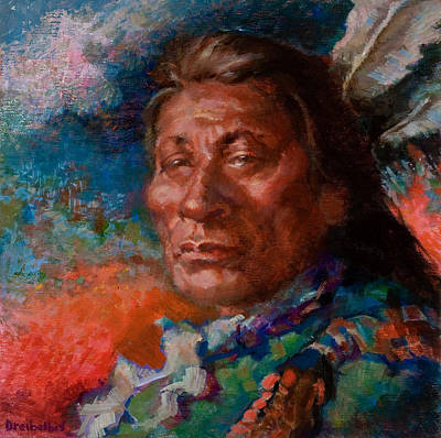 Lakota Man Art Print