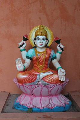 Hindu Goddess Photograph - Lakshmi, Satara by Jennifer Mazzucco