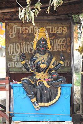 Hindu Goddess Photograph - Lakshmi, Tiruvanamalai by Jennifer Mazzucco