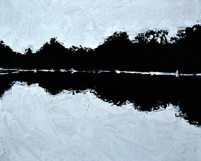 Painting - Lal Bagh Lake 2 by Usha Shantharam