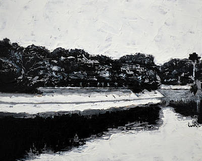 Painting - Lal Bagh Lake 4 by Usha Shantharam