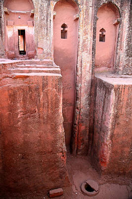 Photograph - Lalibela Church by Marcus Best