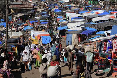 Photograph - Lalibela Market, Ethiopia, East Africa by Aidan Moran