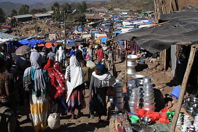 Photograph - Lalibela Market, Ethiopia by Aidan Moran