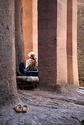 Photograph - Lalibela Pilgrim by Marcus Best