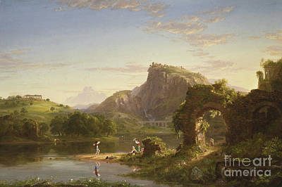 Allegri Painting - L'allegro, 1845 by Thomas Cole