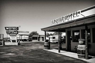 Photograph - Laloma Motel by Patricia Montgomery