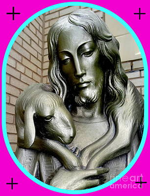 Digital Art - Lamb Of God by Ed Weidman