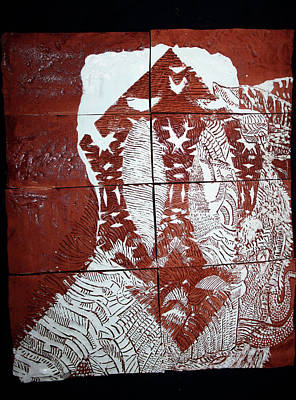 Ceramic Art - Lamb Of God by Gloria Ssali