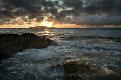 Photograph - Lambay Sunrise by Niall Whelan