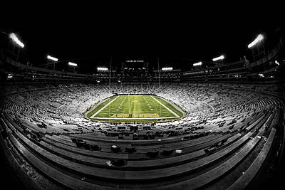 Lambeau Field At Night Original