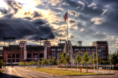Lambeau Field Awakes Art Print by Joel Witmeyer