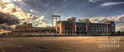 Charles Photograph - Lambeau Field by Joel Witmeyer