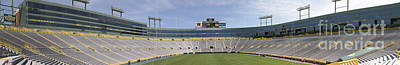 Photograph - Lambeau Field Staduim  by Ricky L Jones