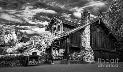 Photograph - Lambert Bridge Winery - Dry Creek Valley Sonoma County by Blake Webster