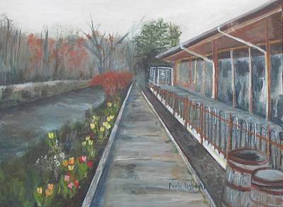 Painting - Lambertville Rr #1 by Paula Pagliughi