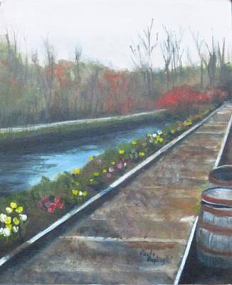 Painting - Lambertville Rr #2 by Paula Pagliughi
