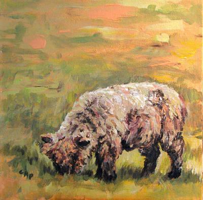 Painting - Lambkin by Cheryl Pass