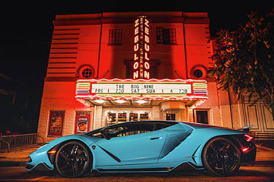 Photograph - Lambo by James Roemmling