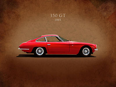 Transport Photograph - Lamborghini 350 Gt by Mark Rogan