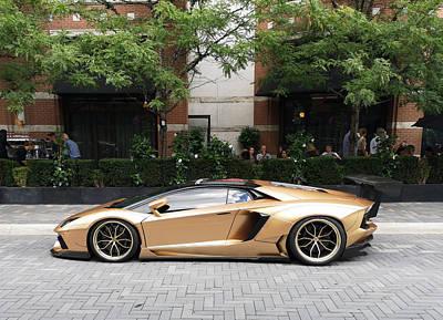 Photograph - Lamborghini Aventador by Andrew Fare
