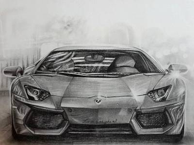 Super Car Drawings Fine Art America