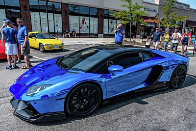 Photograph - Lamborghini Aventador by Randy Scherkenbach