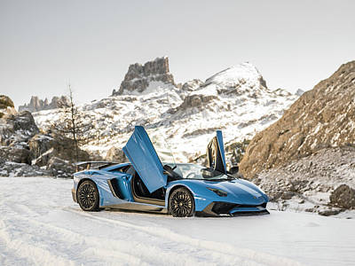 Photograph - Lamborghini Aventador Sv by George Williams