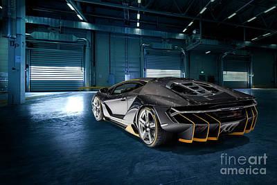 Lamborghini Centenario Lp 770-4 Art Print