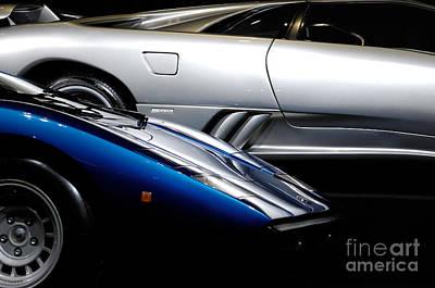 Luxury Car Photograph - Lamborghini Countach And Lamborghini Diablo by Oleksiy Maksymenko