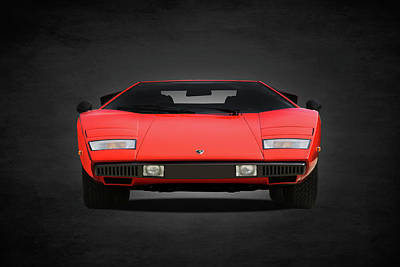 Photograph - Lamborghini Countach by Mark Rogan