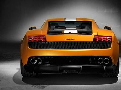 550 Digital Art - Lamborghini Gallardo Lp 550 2 Normal by F S