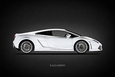 Photograph - Lamborghini Gallardo by Mark Rogan