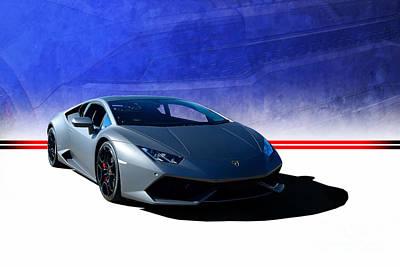 Photograph - Lamborghini Huracan by Stuart Row