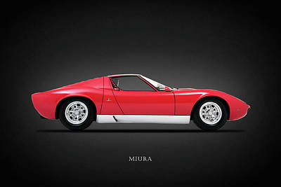 Lamborghini Miura P400 S Art Print by Mark Rogan