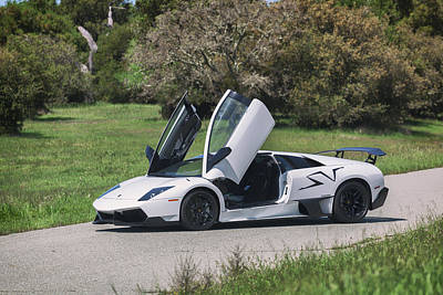 Photograph - #lamborghini #murcielago Sv #print by ItzKirb Photography