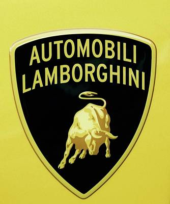 Photograph - Lamborghini One by Caroline Stella