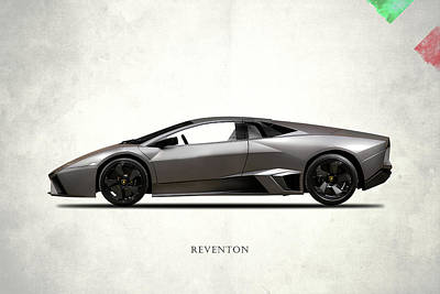 Supercar Photograph - Lamborghini Reventon by Mark Rogan