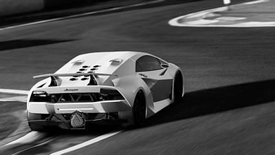 Photograph - Lamborghini Sesto Elemento - 37 by Andrea Mazzocchetti