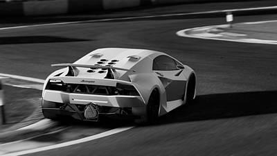 Photograph - Lamborghini Sesto Elemento - 38 by Andrea Mazzocchetti