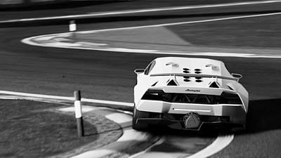 Photograph - Lamborghini Sesto Elemento - 39 by Andrea Mazzocchetti
