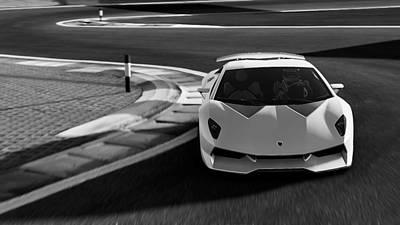 Photograph - Lamborghini Sesto Elemento - 42 by Andrea Mazzocchetti