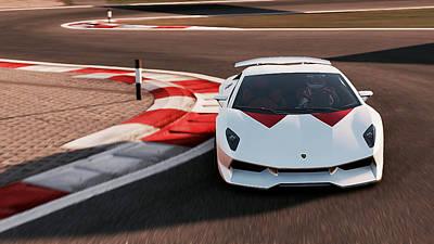 Photograph - Lamborghini Sesto Elemento - 43 by Andrea Mazzocchetti