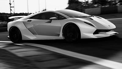 Photograph - Lamborghini Sesto Elemento - 45 by Andrea Mazzocchetti