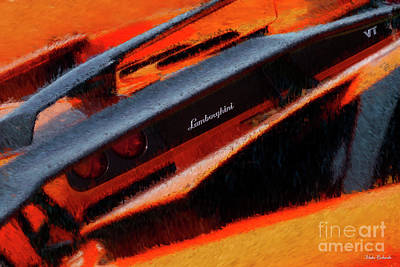 Photograph - Lamborghini Vt Wings by Blake Richards