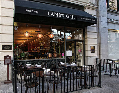 Photograph - Lamb's Grill by Ely Arsha