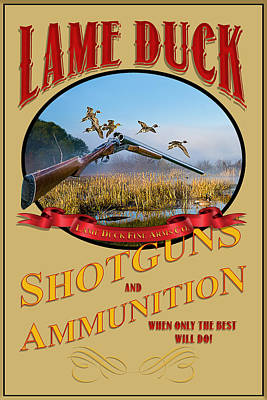 Photograph - Lame Duck Shotguns And Ammunition by TL Mair