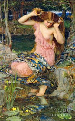 Hera Photograph - Lamia 1909 by Padre Art