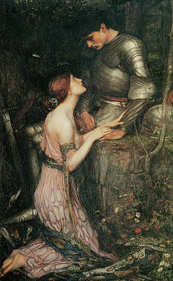 Victorian Era Wall Art - Painting - Lamia by John William Waterhouse