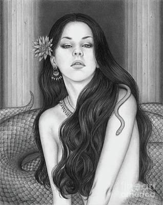Drawing - Lamia by Mayumi Ogihara